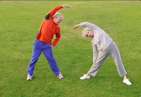 """Taller vivencial de relajamiento """"Practicando yoga con  estiramientos para adultos mayores  y aprendiendo a respirar"""""""